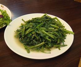 鳥屋の青菜.JPG